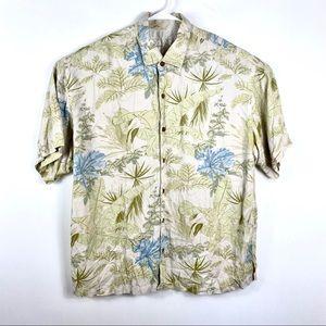 Tommy Bahama Men's Hawaiian Men's Silk Shirt Camp